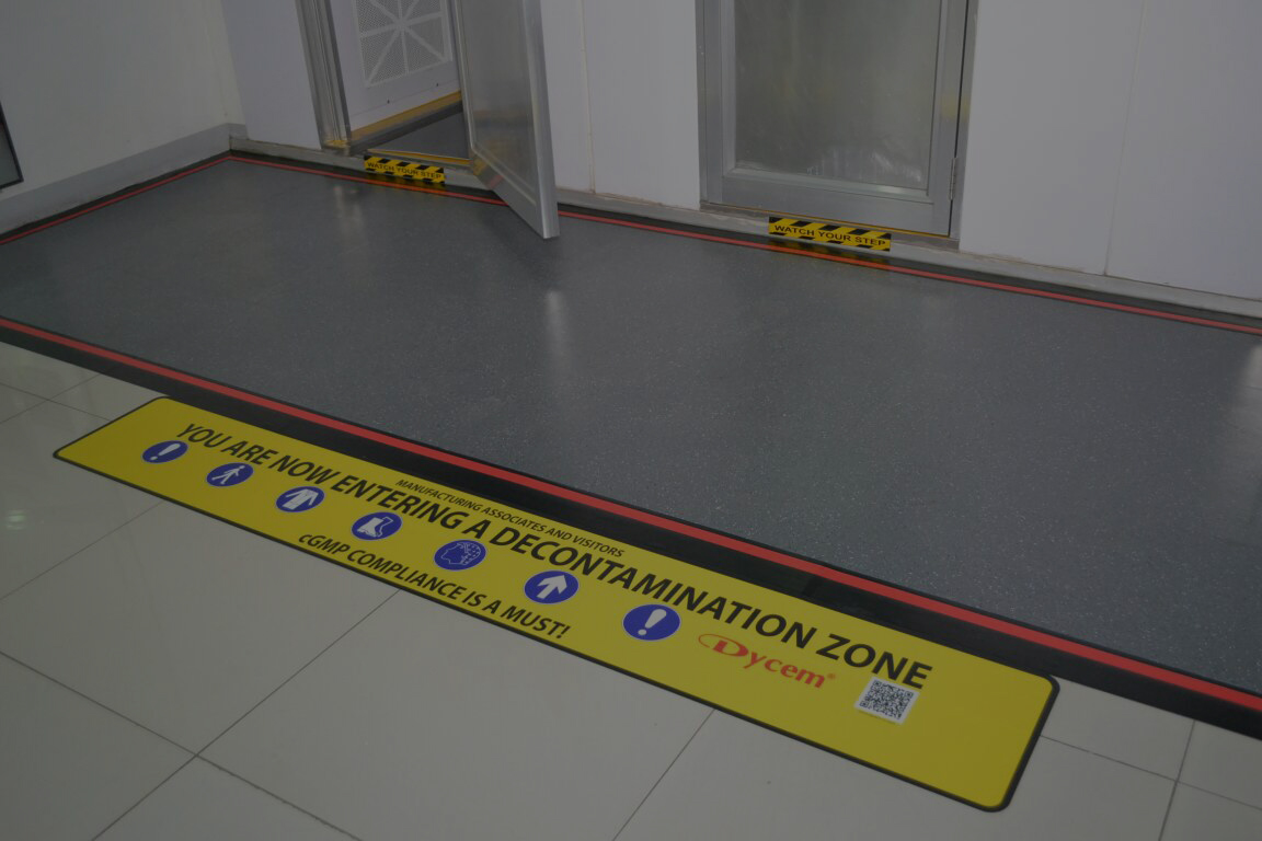 Electrostatic Discharge Protection Sign